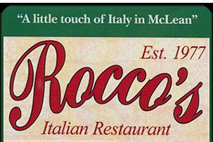 Roccos Italian Restaurant Italian Pizza Family Restaurant